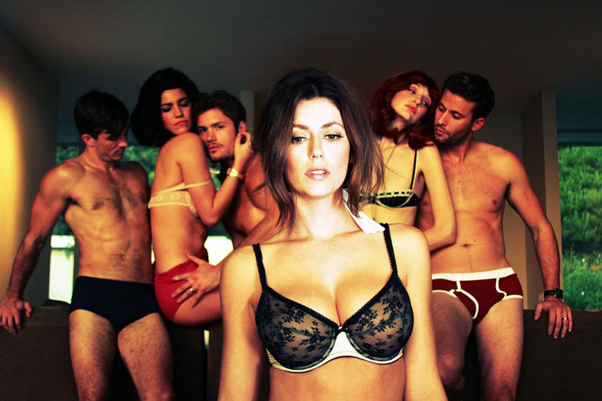 Diora Baird & Estella Warren - Treats Magazine Topless Photoshoot (7)