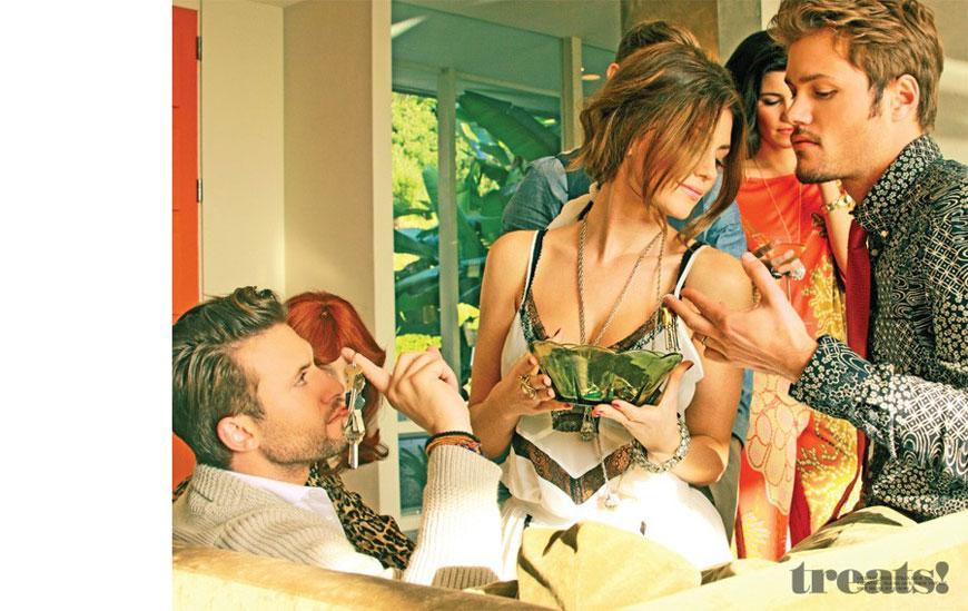 Diora Baird & Estella Warren - Treats Magazine Topless Photoshoot (5)