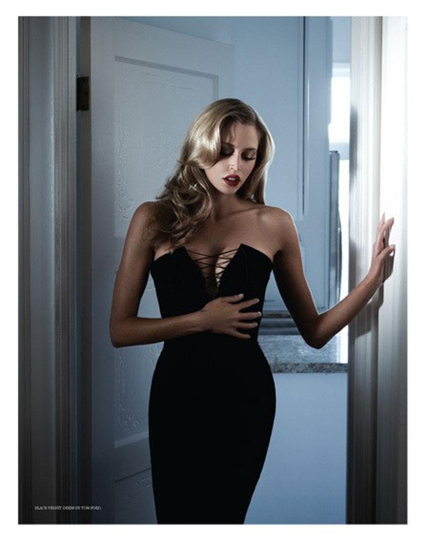 Diora Baird & Estella Warren - Treats Magazine Topless Photoshoot (3)