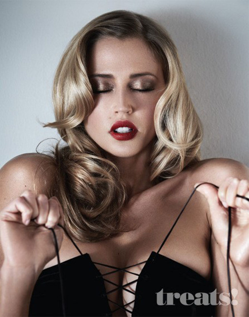 Diora Baird & Estella Warren - Treats Magazine Topless Photoshoot (1)