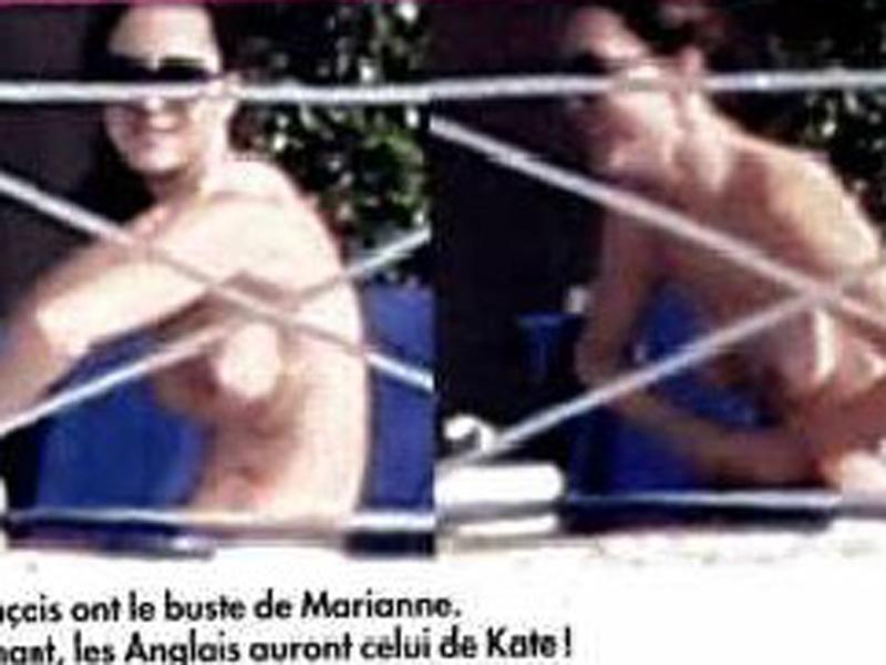 Kate Middleton naakt/topless in Franse tabloid (10)