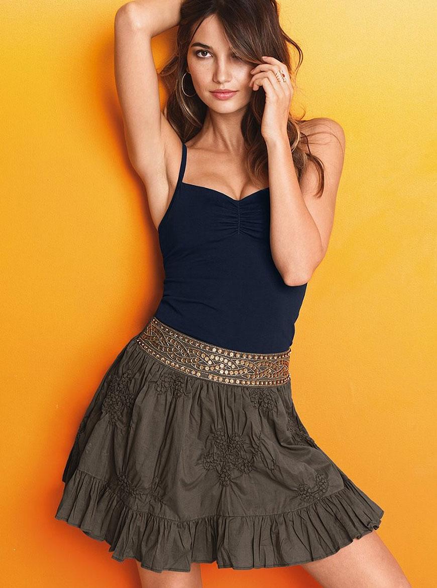 Lily Aldridge - Victoria's Secret Lingerie (33)