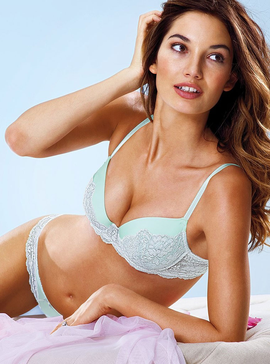 Lily Aldridge - Victoria's Secret Lingerie (29)