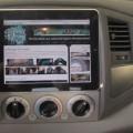 iPad in car