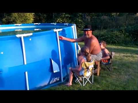 Hoe maak je een zwembad leeg?