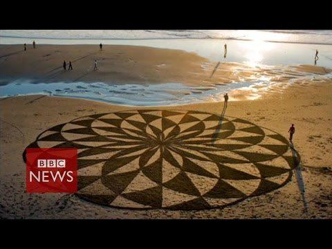 Spectaculaire zandkunstwerken