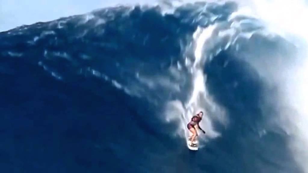 Surfen met 1 arm