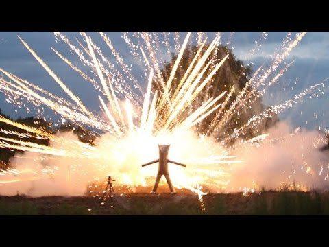 Uitvinding om vuurwerk van dichtbij te bekijken