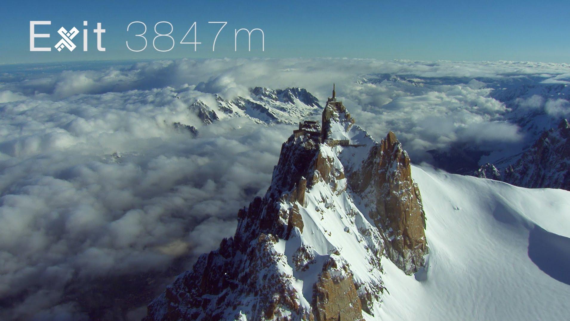 Wingsuit video