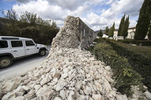 Schade na aardbeving