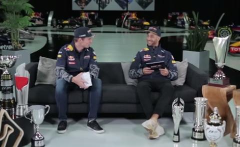 Interview met Max Verstappen en Daniel Ricciardo