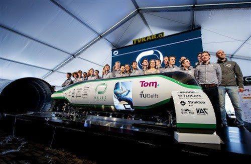 hyperloop TU delft