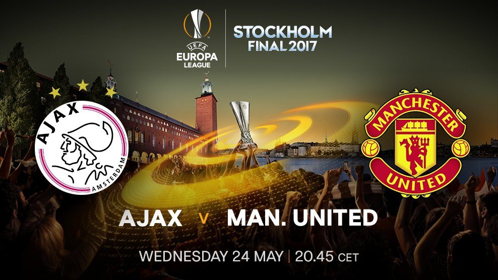 Ajax vs Manchester united in Stockholm