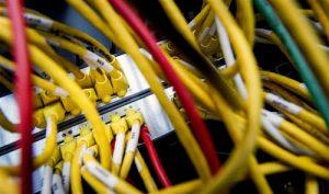 kabels naar server