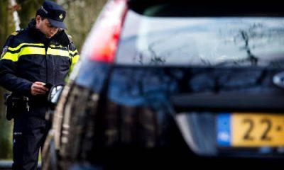 Politie bekeurt automobilist
