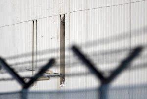 Gevangenis muur